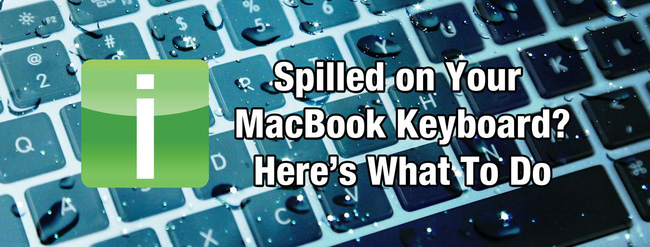 Water on MacBook Keyboard