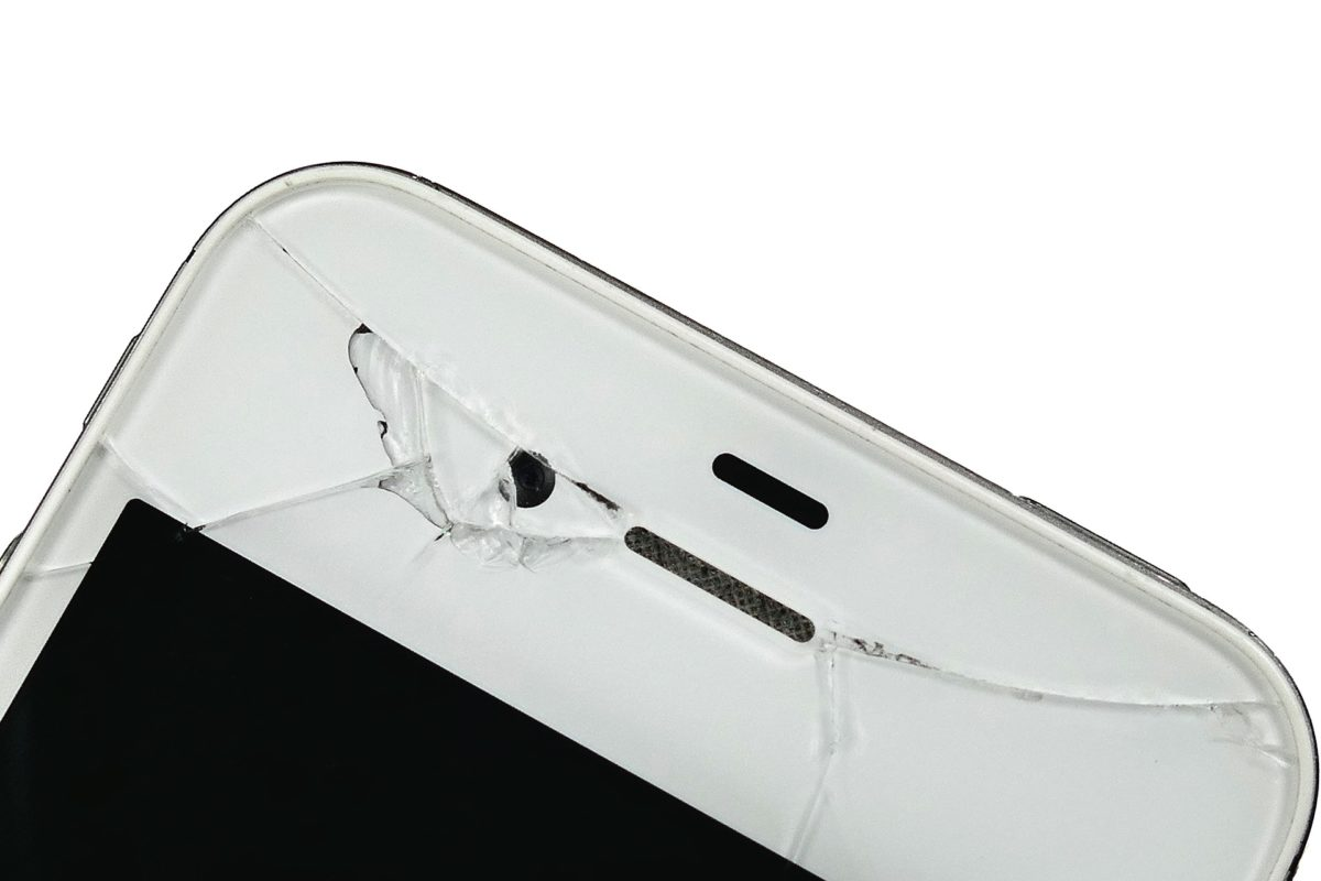 fix your smartphone: cracked screen