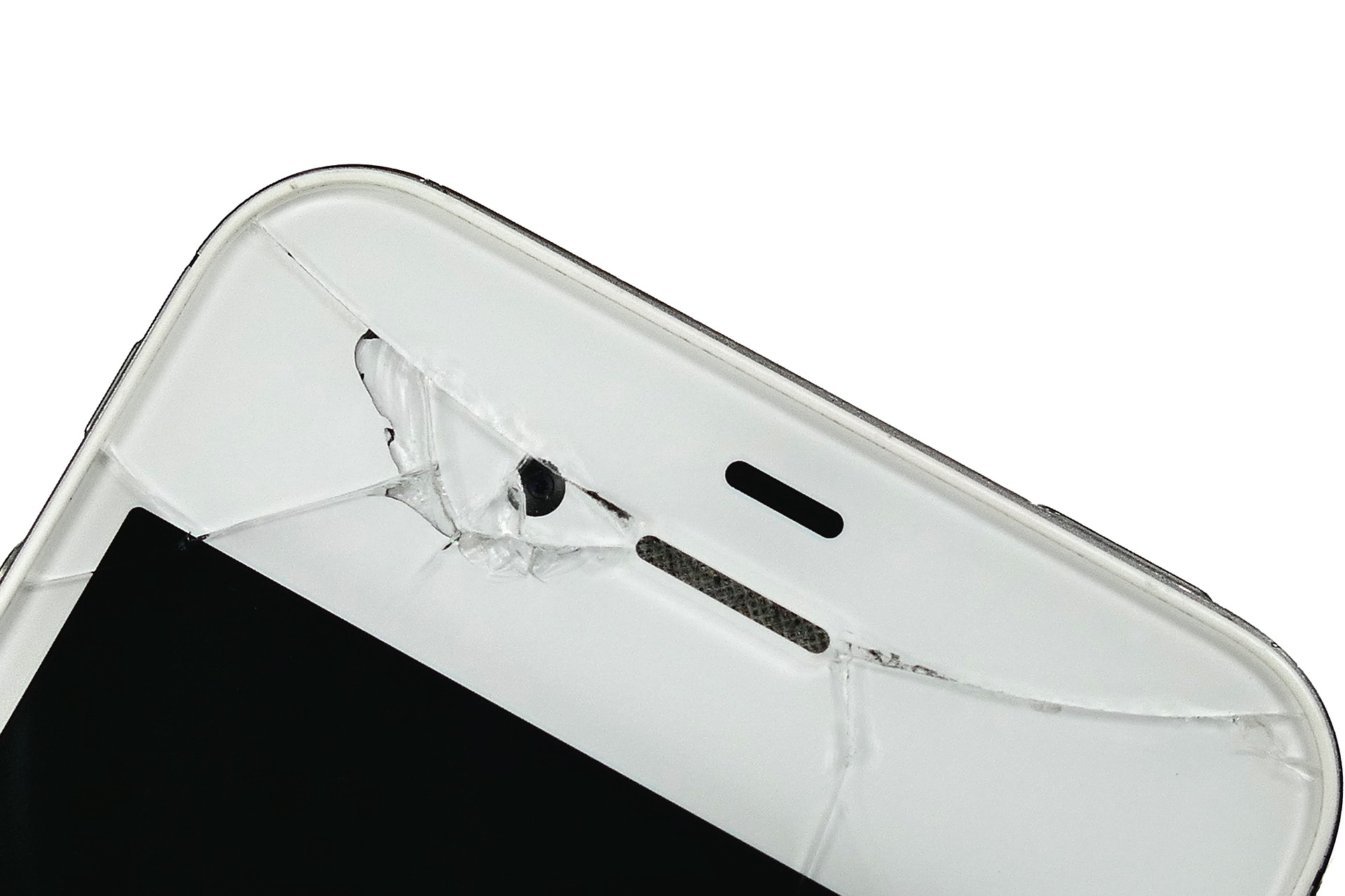 fix your smartphone: cracked screen