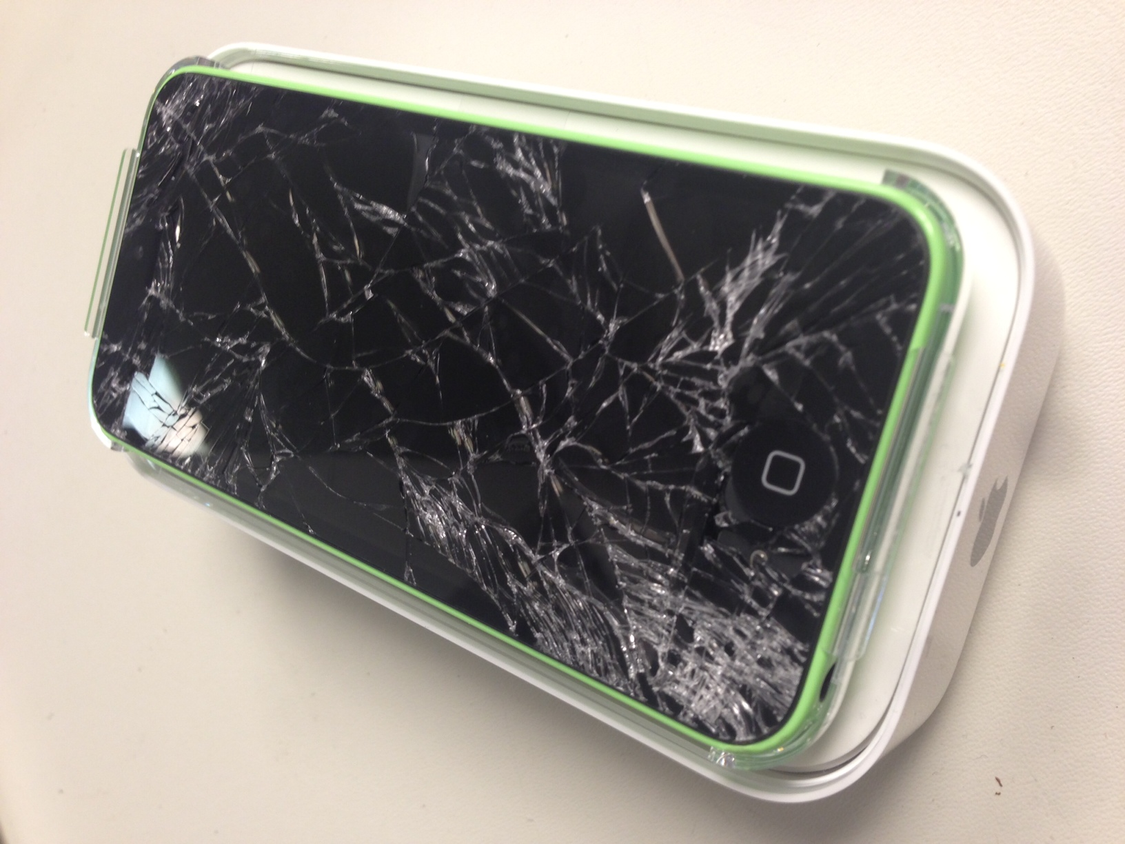 The iPhone 5C: How high did it take to break?