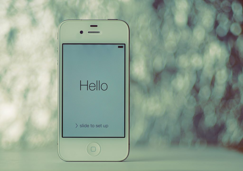 iPhone 4 high resolution photo